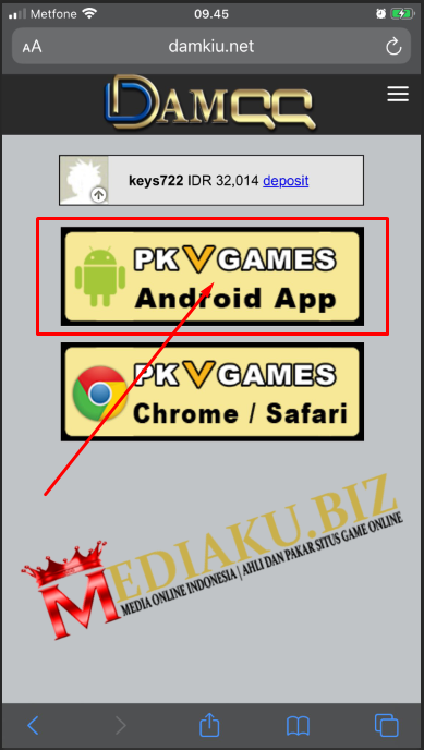 Download Aplikasi Pkv Games Versi Terbaru